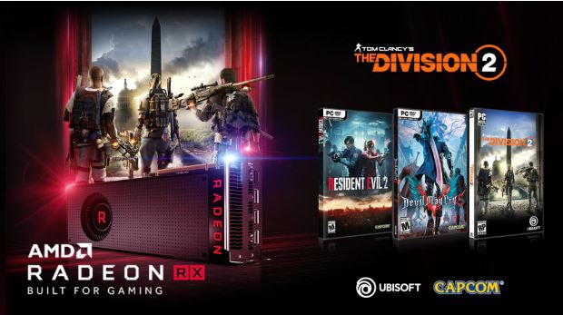 AMD Bundles Select Radeon RX Graphics Cards with up to Three AAA Game Titles