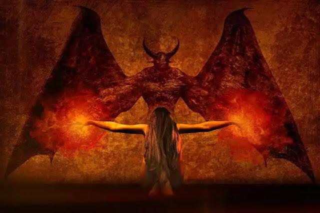 setan setan penggoda
