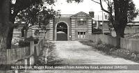 Front of No.1 Division, Boggo Road Gaol, Brisbane, undated.