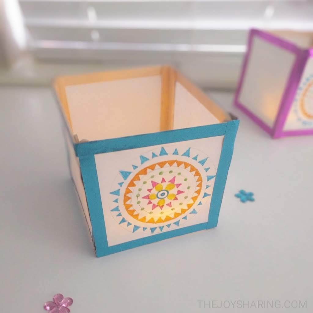 How To Make Paper Lantern Craft The Joy Of Sharing
