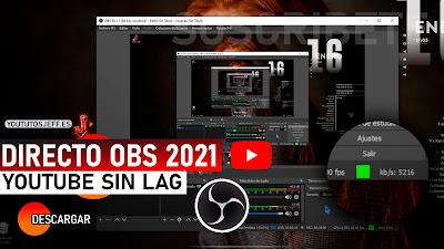 hacer directo en youtube con obs studio