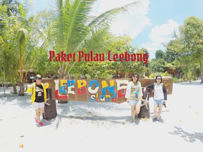paket pulau leebong belitung