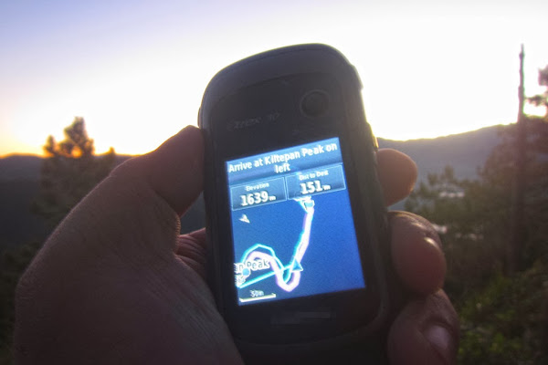 GPS - Kiltepan Peak - Schadow1 Expeditions