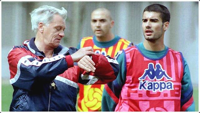 Bobby Robson Pep Guardiola Barcelona
