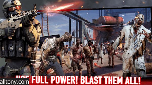 تحميل لعبة Zombie Frontier 4 للأندرويد التحديث الجديد