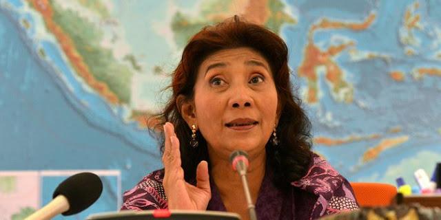 Menteri Susi: Lebih 10.000 Kapal Asing Pencuri Ikan Kita Usir dari Laut Indonesia