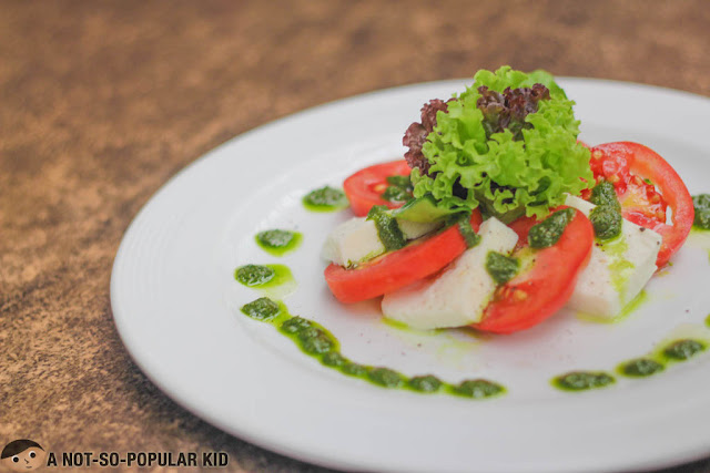 Kesong Puti Caprese of Lorenzo's Way
