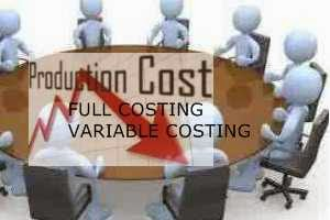 Metode full costing dan metode variable costing