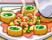 العاب طبخ كرات السمك