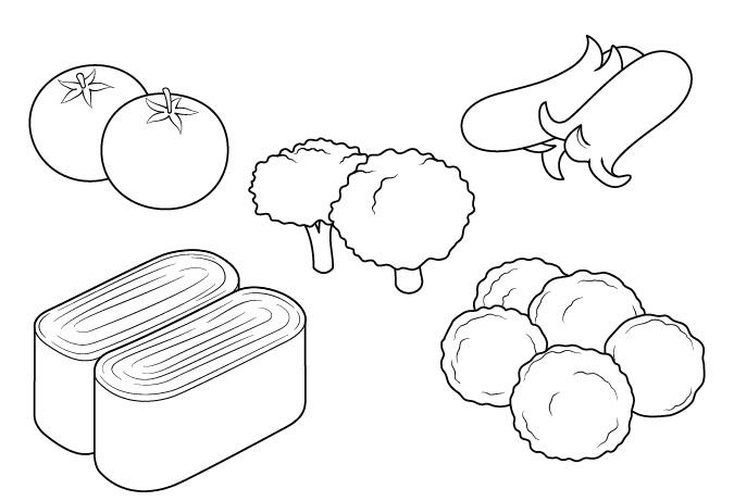 Gambar makanan anime