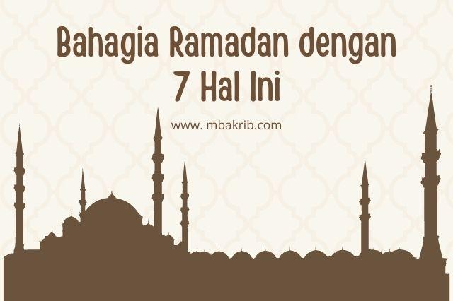 bahagia ramadan