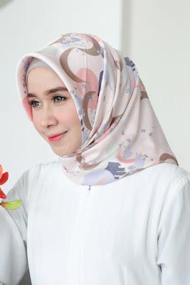 jilbab khimar velvet jilbab segi empat velvet motif