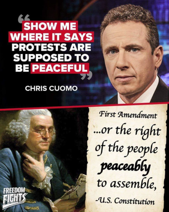 Constitution and Chris Cuomo