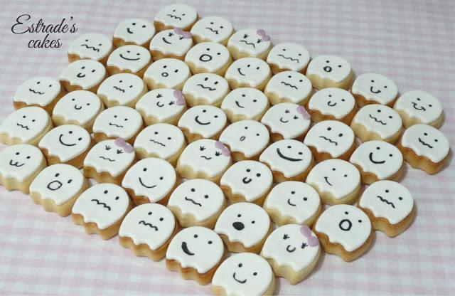 galletas de fantasmas, geniales para hacer con niños 3