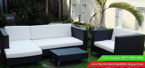 Sofa Rotan Modern Medan Minimalis Surabaya 0857 5596 9664