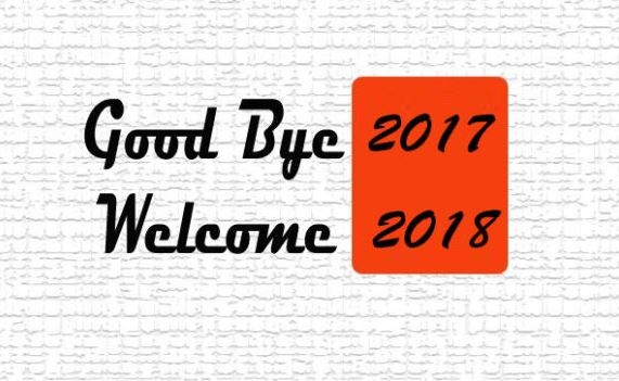 Goodbye 2017 Welcome 2018 Image Pic for Facebook Whatsapp Pinterest