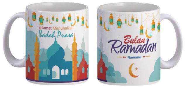 costume mug (gelas) premium dengan desain suka-suka - 325 ml