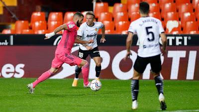 ملخص واهداف مباراة ريال مدريد وفالنسيا (1-4) في الدوري الاسباني