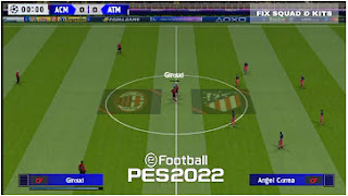 Download PES 2022 PPSSPP Camera PS5 Chelito V2 Update Fix UCL New Transfer & Peter Drury Commentary Fix Call Name