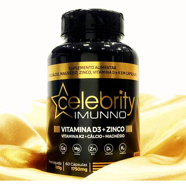 Polivitamínico - Vitamina D3 + Zinco + Vitamina K2 + Cálcio + Magnesio.