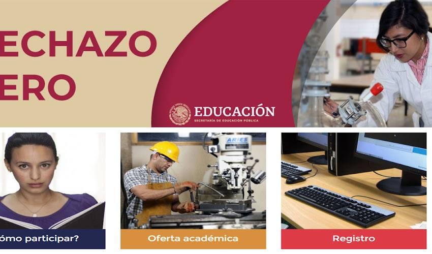Programa RECHAZO CERO para estudiantes de educación superior