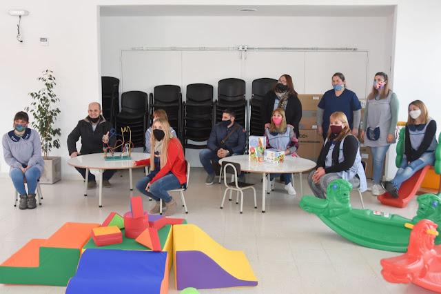 Inversión en equipamiento para el nuevo Jardín Maternal Municipal Grillitos