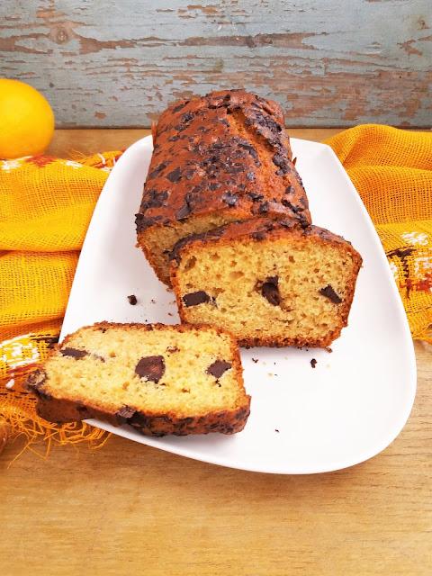 Ciasto pomarańczowe z czekoladą / Orange Chocolate Chip Bread