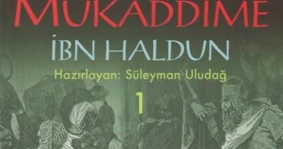 Ibn Haldun Mukaddime Ebook