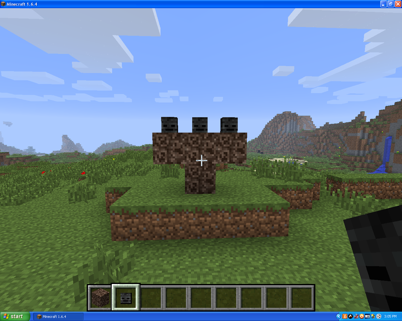 Minecraft Master How To Spawn The Wither On Creative Mode