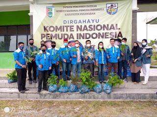 DPD KNPI Pesawaran Peringati HUT KNPI Ke-48 Dengan Aksi Sosial & Penghijauan