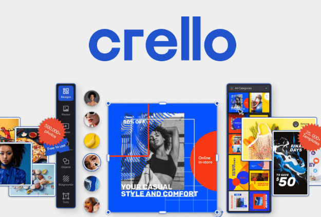 Crello - Φτιάξτε εύκολα βίντεο και εικόνες σαν επαγγελματίας