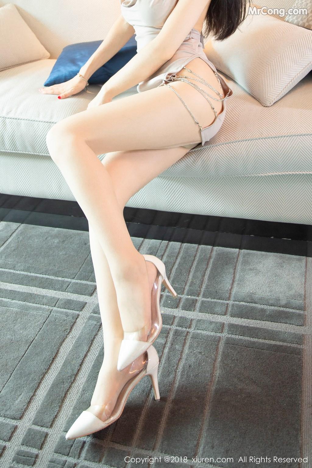 Image XIUREN-No.1141-Xiao-Reba-Angela-MrCong.com-006 in post XIUREN No.1141: Người mẫu Xiao Reba (Angela小热巴) (61 ảnh)