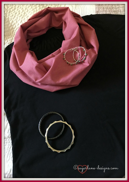 A FQS Remix - My DIY Infinity Scarf Tutorial