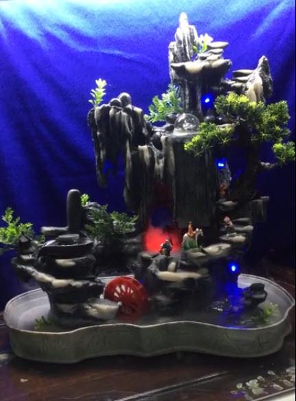 Thác nước phong thủy - cối xoay luân thủy
