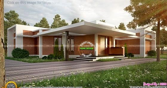 Clay Brick Home Design Kerala Home Design And Floor Plans