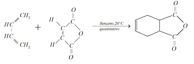 Adição anidrido maleico  anidrido tetrahidroftálico