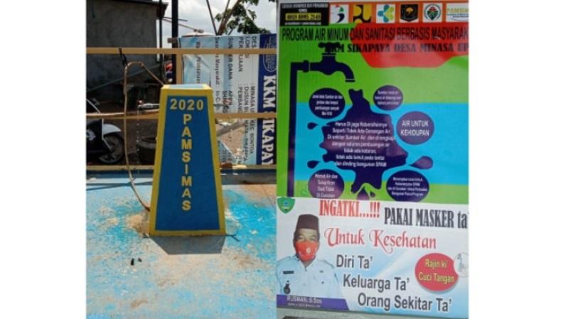 Warga Buamata dan Sikapaya Desa Minasa Upa Sudah Dapat Menikmati Air Bersih