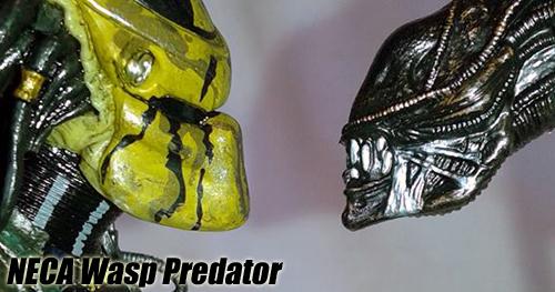 NECA Wasp Predator bemutató