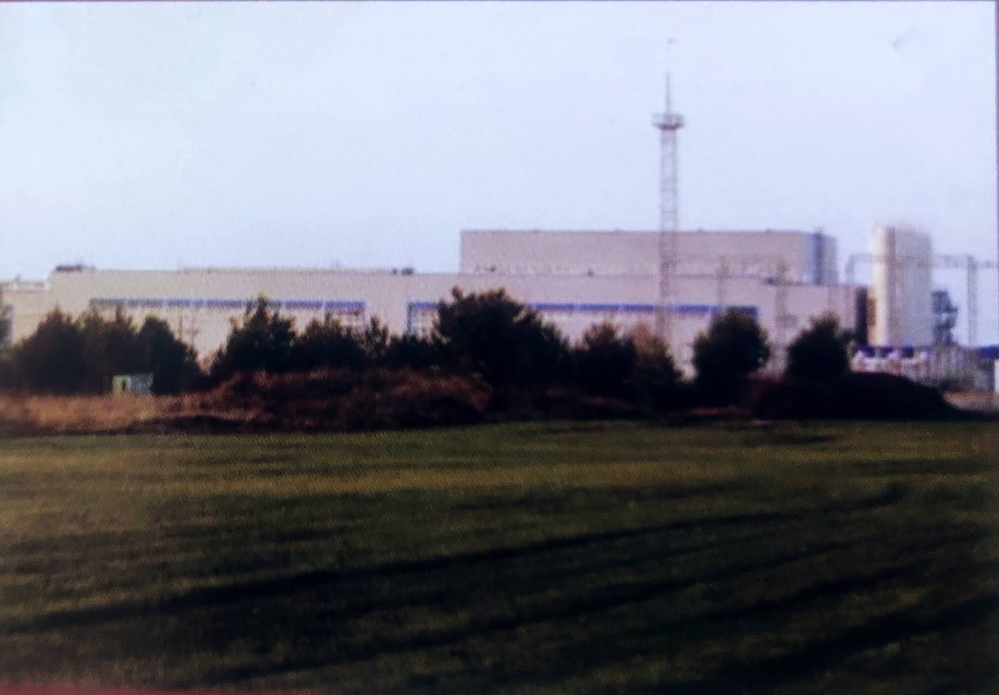 Image contains a research center