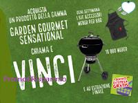 """Concorso """"Buitoni Garden Gourmet & Coop"""" : vinci Barbecue, kit accessori Weber e 1 anno di spesa gratis"""