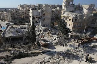 Rezim Teroris Assad dan Milisi Syi'ah Bayaran Iran Serang Idlib Sebanyak 6.422 Kali di Bulan Maret