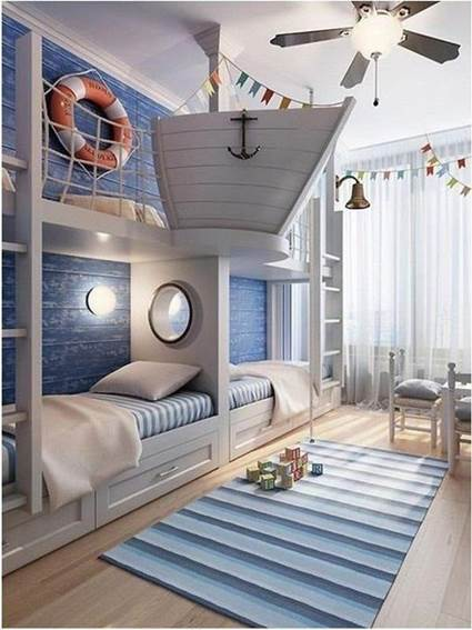 Cool and Stylish children's themed rooms 1