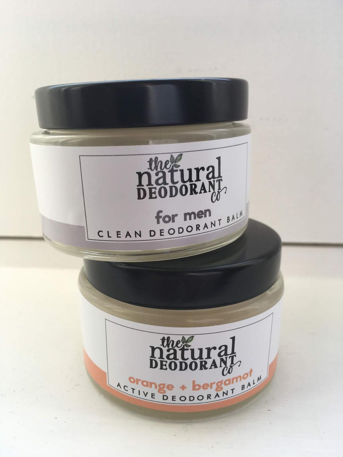 Natural Deodorant Company for Men and Active Deodorant