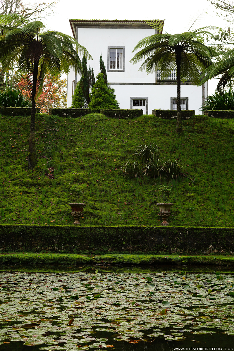 Terra Nostra Botanical Garden and Thermal Pools in the Azores