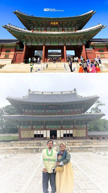 Gyeongbokgung atau Istana Gyeongbok Korea
