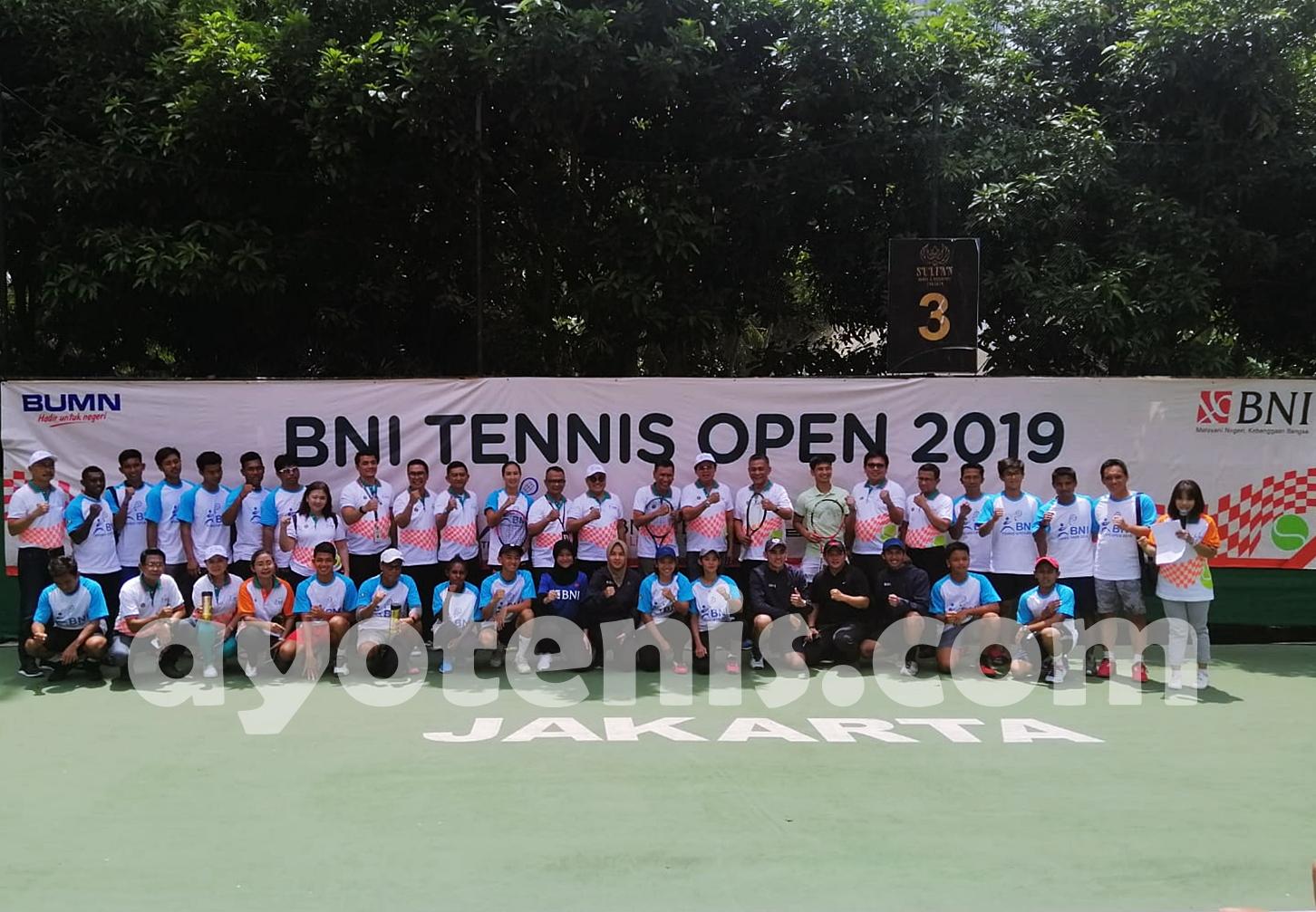 Hasil Pertandingan Tennis Open di Jakarta, Senin 18 November 2019