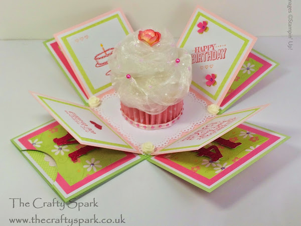 Cupcake Exploding Box Card - THE TUTORIAL