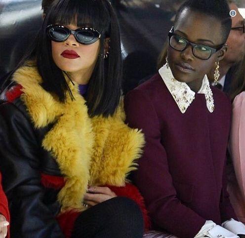 Rihanna vs Lupita Nyong'o They Are To Co-Star In Upcoming Ava DuVernay-Directed