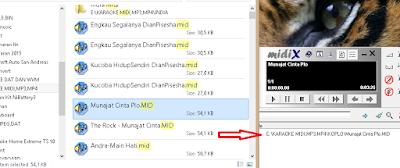MIDI-X , Software Untuk Membuat Lirik Berformat Midi