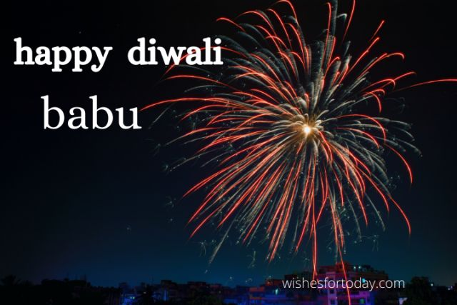 Happy Diwali Babu Pictures